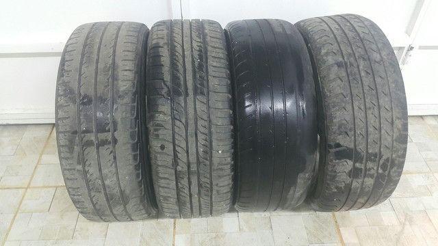 Aro 15 com pneu 195/50 R$: 2.000 tel: 9.9964.7494 - Foto 4