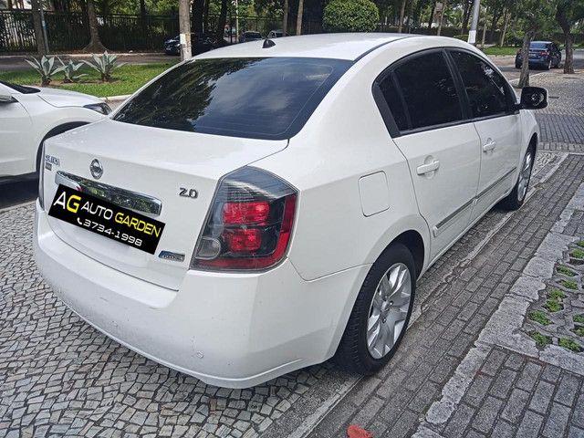 Nissan Sentra 2013 2.0 mec.branco(lindo!)completo+gnv+revisado+novíssimo!! - Foto 13