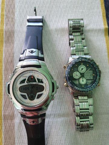 Relógio Citizen Navihawk E6758 Usado mais Relógio Aviador