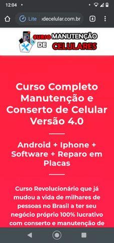 Curso Completo Manutenção e Conserto de Celular<br>Versão 4.0