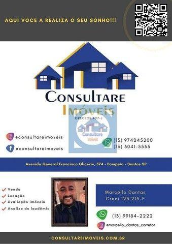Sala para alugar, 46 m² por R$ 1.600,00/mês - Encruzilhada - Santos/SP - Foto 12