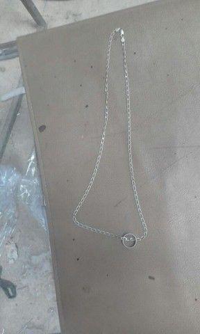 Cordao prata - Foto 3
