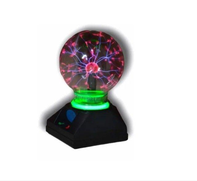 Globo De Plasma Light De 12 Cm 110 V Grande Bola De Cristal