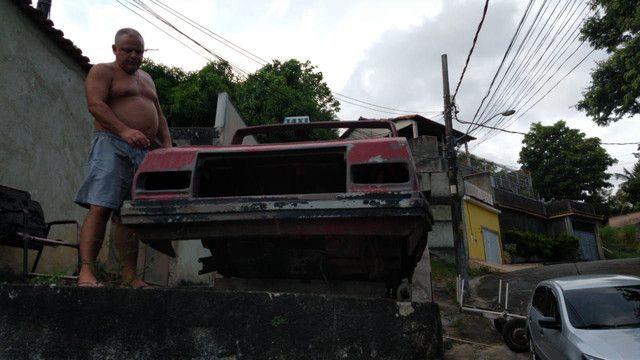 Vendo carroceria de fibra pra quem gosta tipo Bugre. - Foto 3