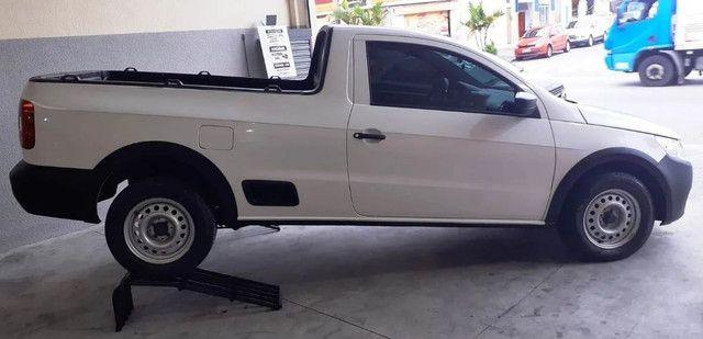 caminhonete pick up Saveiro 1.6 (2012) parcelamos!! - Foto 4
