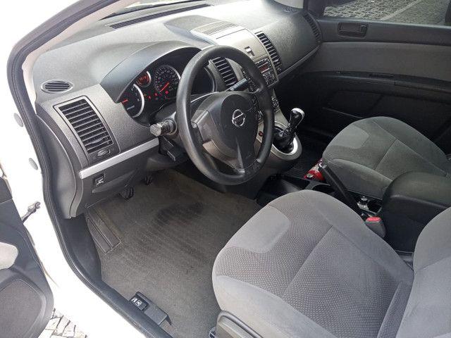 Nissan Sentra 2013 2.0 mec.branco(lindo!)completo+gnv+revisado+novíssimo!! - Foto 7