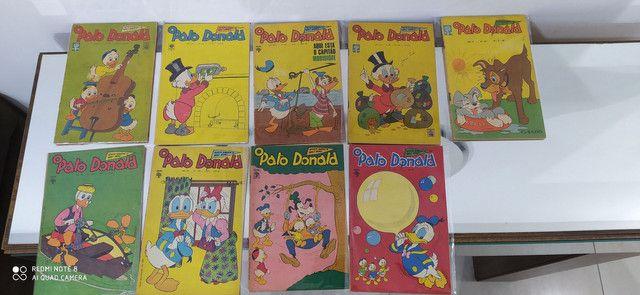 Gibis pato Donald coleção editora abril lote com 100 revistas em quadrinhos - Foto 3