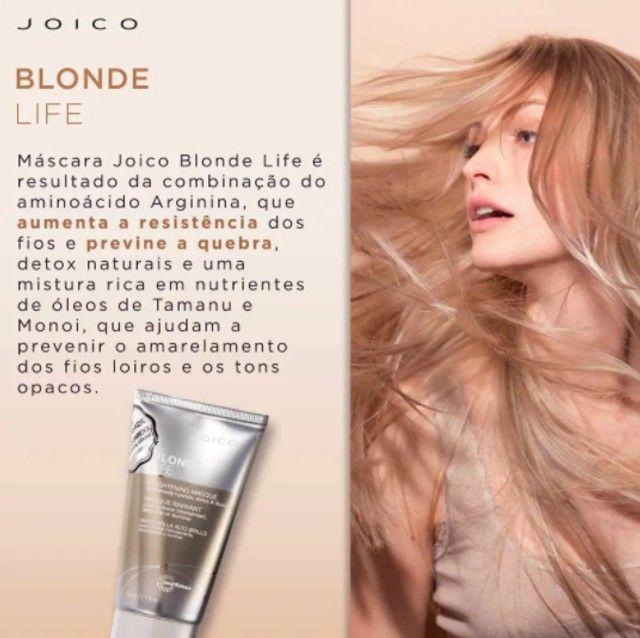Joico Blonde Life Smart Release - Máscara Capilar 50ml - Foto 3