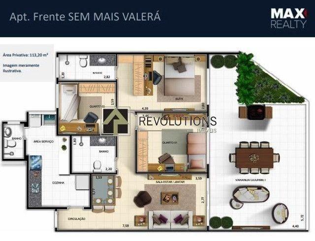 Apartamento à venda com 3 dormitórios cod:R31142 - Foto 4