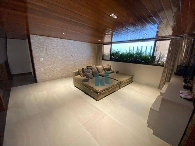 Casa com 4 dormitórios à venda, 538 m² por R$ 3.500.000,00 - Portal do Sol - João Pessoa/P - Foto 17