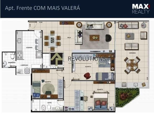 Apartamento à venda com 3 dormitórios cod:R31142 - Foto 3