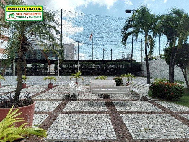Apartamento com 3 dormitórios para alugar, 129 m² por R$ 1.600,00/mês - Guararapes - Forta - Foto 3