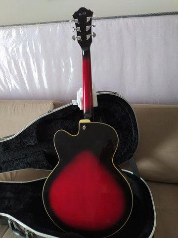 Guitarra Semi-acustica Ibanez AF75 + Case - Foto 5