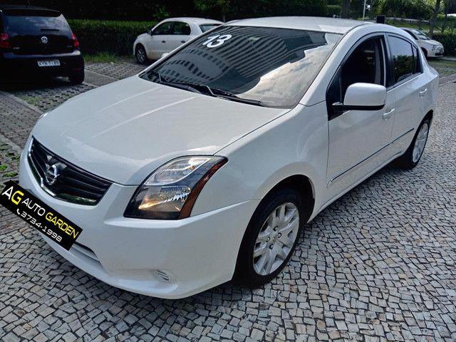 Nissan Sentra 2013 2.0 mec.branco(lindo!)completo+gnv+revisado+novíssimo!!