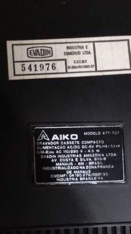 Toca fitas AIKO vintage - Foto 4