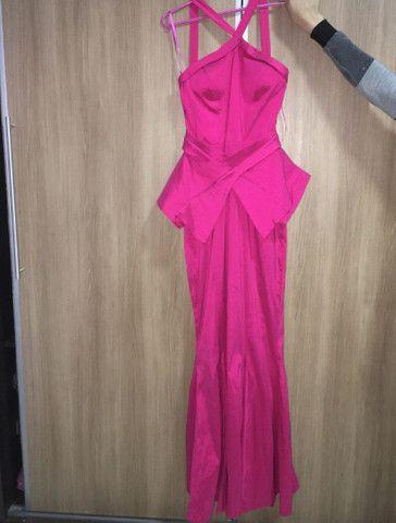 Vestido longo rosa  - Foto 2