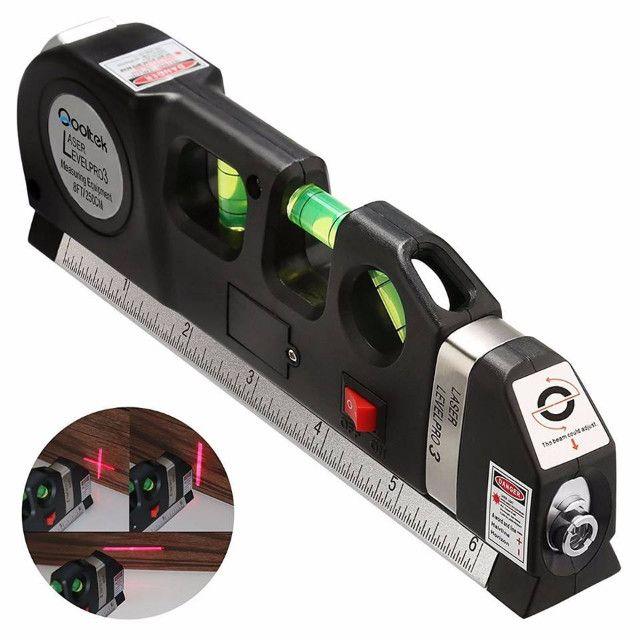 Promoção Nível Laser Profissional Trena Level Pro3, Estágios Nivelador, Novo, Entrego