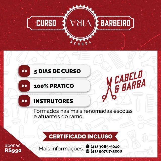 Curso de Barbearia em Curitiba