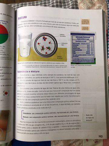 Livro de Ciências Novo Pensar 9 (biologia química física) - Foto 3