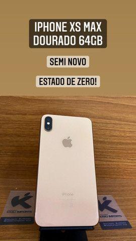 iPhone XS Max Dourado - Estado de Zero!
