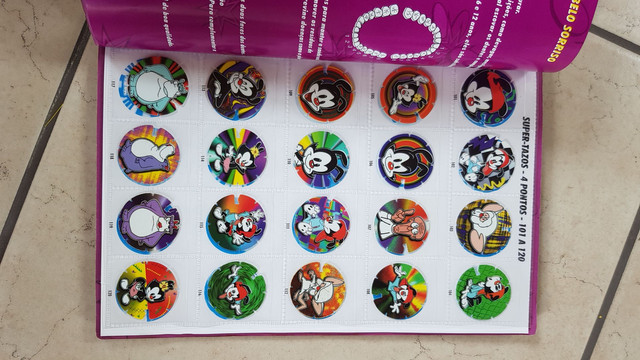 Album de tazo Animaniacs - Foto 3