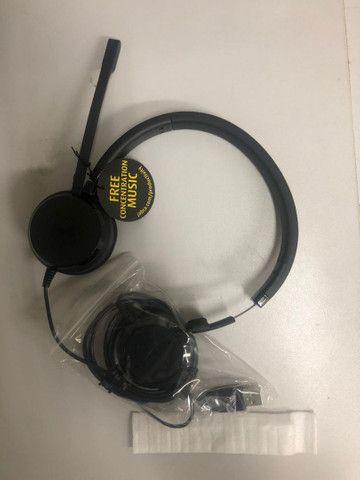 Headset Evolve 20 MS Duo USB Jabra<br><br> - Foto 5