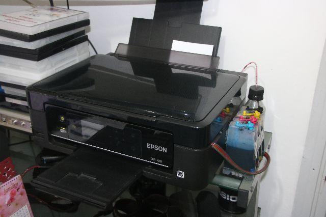 Impressora Epson Xp-401 Com Kit Bulk-ink wifi