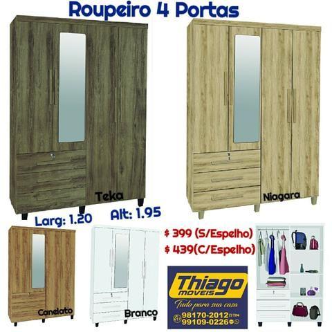 Roupeiros (entrega e montagem) - Foto 4