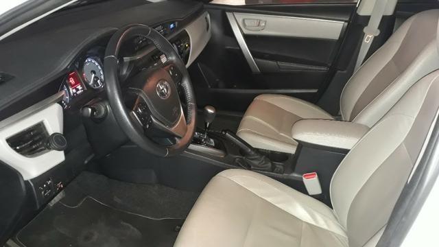 Corolla 2017 Xei 2.0 + GNV - MUITO NOVO - particular - carro de garagem - 43550km - Foto 11