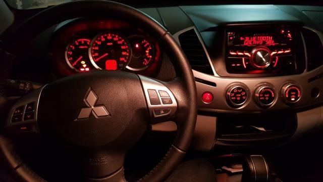 PickUp L200 Triton 2018 4x4 Diesel Aut completa de tudo - Foto 8
