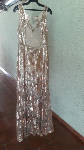Vestido sereia no paetê bordado - Foto 2