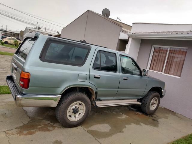 Camionete Hilux sw4 dlx 2.8 T diesel 1995 tl. 41_ * so a noite - Foto 4