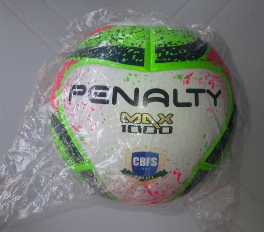 Bola Futsal Penalty Max 1000 (está Com Escritos de caneta 565e207869195