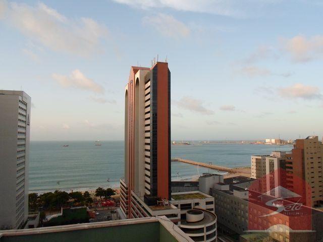 Cobertura residencial para locação no meireles com vista mar. - Foto 8