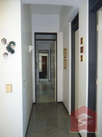 Apto 162m², 3 stes, sala 3 amb., dce, 2 vgs, à venda, meireles - Foto 11