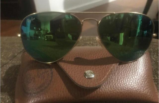 10edcbf1e Óculos Ray Ban Aviador original verde RB 2140 - Bijouterias ...