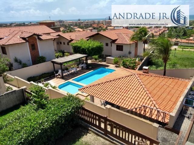 Casa duplex em condomínio no Porto das Dunas, nascente, com vista mar e área de lazer - Foto 12