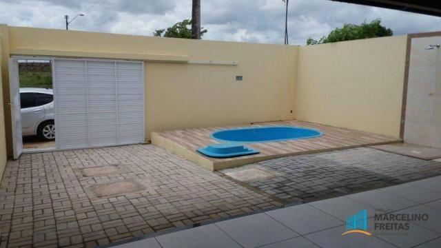 Casa com 3 dormitórios à venda, 90 m² por R$ 230.000 - São Bento - Fortaleza/CE - Foto 4