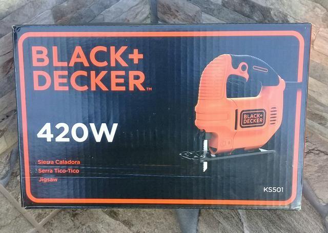 Serra tico-tico black decker - Foto 6