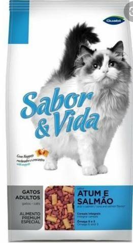 Ração Sabor e Vida gatos 10kg
