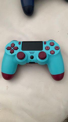 Controle PS4 NOVO primeira linha - Foto 3
