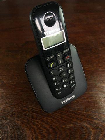 Telefone Sem Fio Intelbras Ts 3110 Preto - Frete Grátis - Foto 3