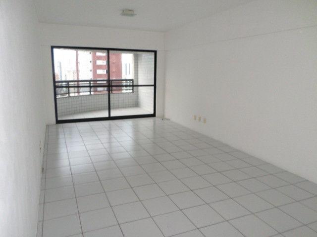 AL16 Apartamento 3 Quartos, 2 Suítes+Dependência, Varanda, 4 Wc, 2 Vagas, 100m² Boa Viagem - Foto 2