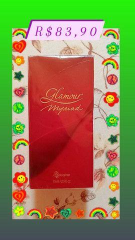 Perfume Glamour myriad.