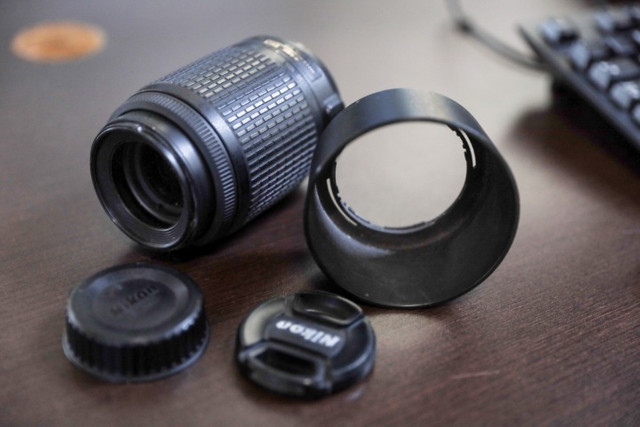 Lente Nikon 55-200mm - Foto 4