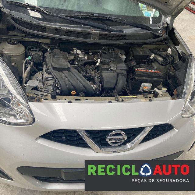 Sucata de Nissan march 2019 3cc para retirada de peças  - Foto 5