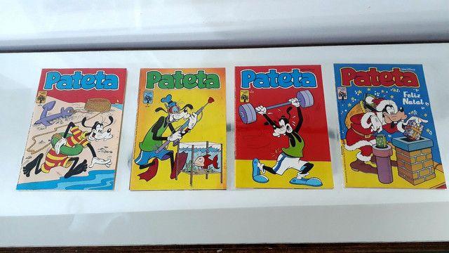 Gibis pateta 1 série lote coleção editora abril 32 revistas em quadrinhos Disney - Foto 5