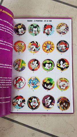 Álbuns com tazos - Looney Tunes, Animaniacs e Tiny toons - Foto 4
