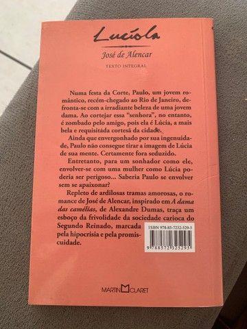 Livro Lucíola  - Foto 2