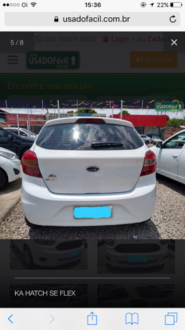Ford Ka Hatch SE flex - Foto 4